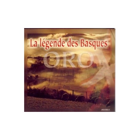 Oro - La légende des Basques - CD