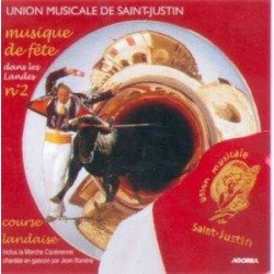 Union Musicale de Saint Justin - Musique de Fête dans les Landes N°2 - CD