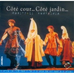 Maritzuli Konpainia - Côté cour... Côté Jardin... - CD
