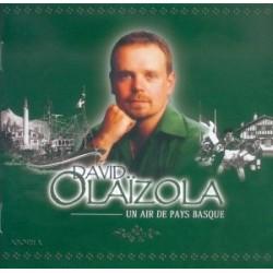 David Olaizola - Un air de Pays Basque - CD
