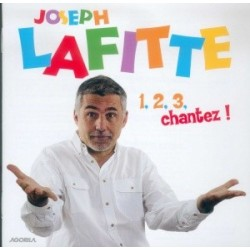 Joseph Lafitte - 1, 2, 3, chantez - CD