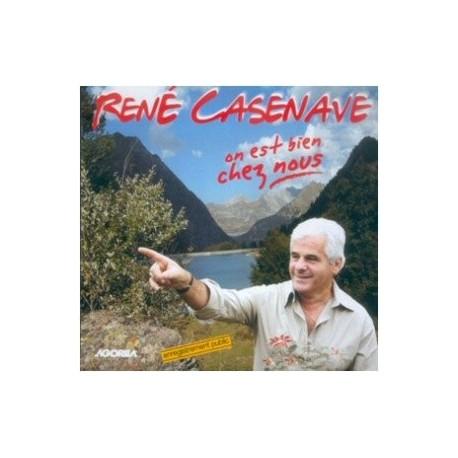 René Casenave - On est bien chez nous - CD