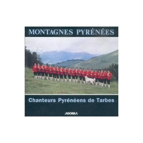 Les Chanteurs Pyrénéens de Tarbes - Montagnes Pyrénées - CD