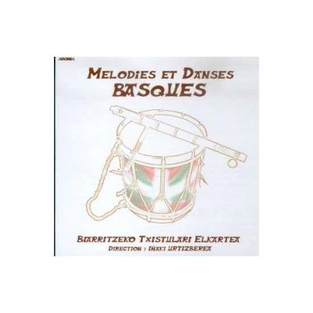 Biarritzeko Tistulari Elkartea - Melodies et danses Basques - CD