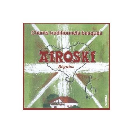 Airoski - Chants traditionnels basques - CD