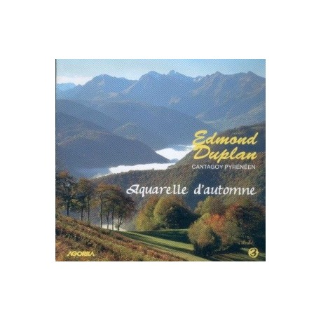 Edmond Duplan - Aquarelle d'automne - CD