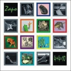 ZapoZain - 4 plus 4 égal 10 - CD