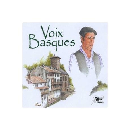 Compilation 50 ans AGORILA - Voix Basques - CD