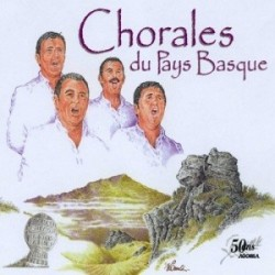 Compilation 50 ans AGORILA - Chorales du Pays Basque - CD