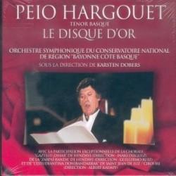 Peio Hargouet - Le disque d'or - CD