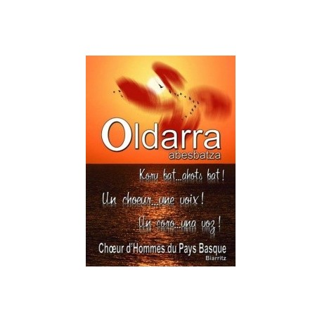 Oldarra - Un choeur une voix - DVD