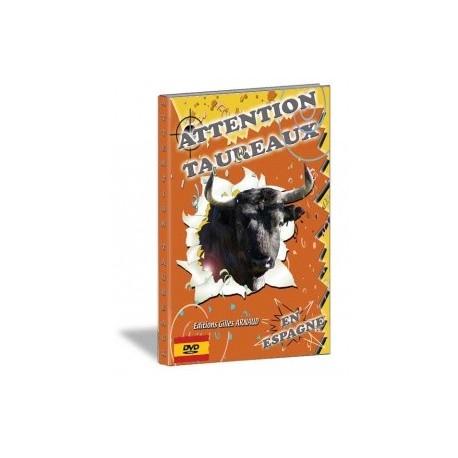 Gilles Arnaud - Attention taureaux en Espagne - DVD
