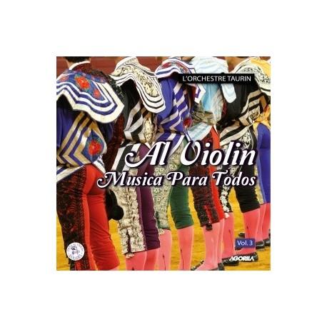 Al Violin - MUSICA PARA TODOS - CD