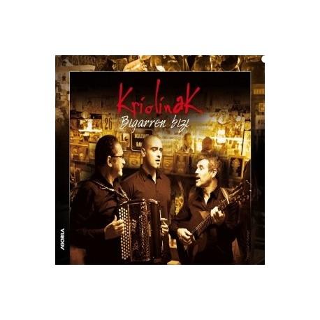 Kriolinak - Bigarren Bizi - CD