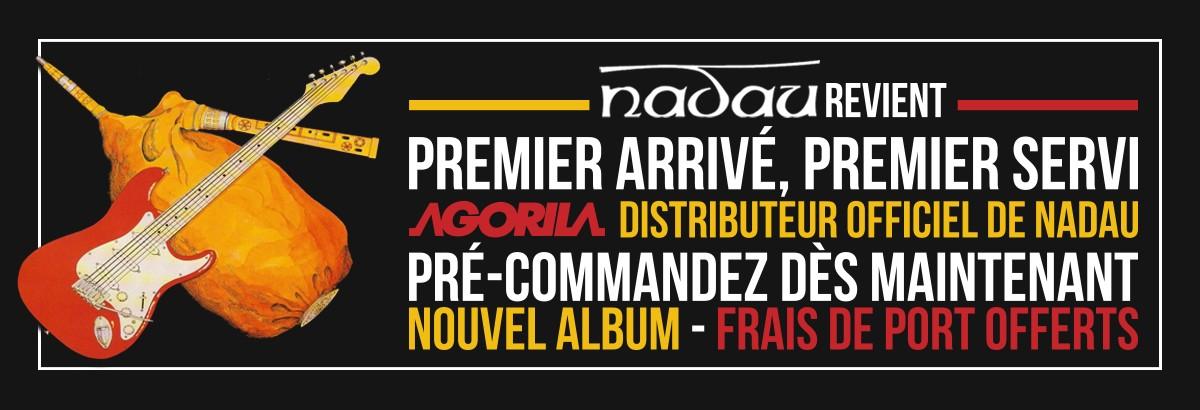 Nouvel album de Nadau disponible à la précommande