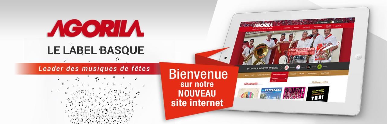Nouveau site internet Agorila